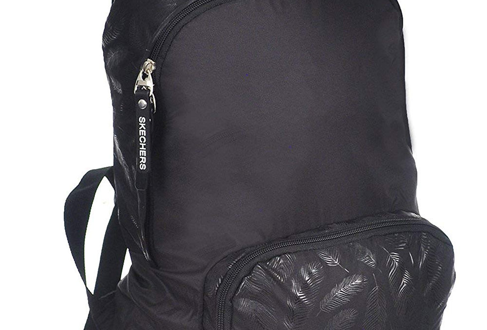 SKECHERS Womens Sanctuary Textured Simple Everyday backpack sklb0025w - Black