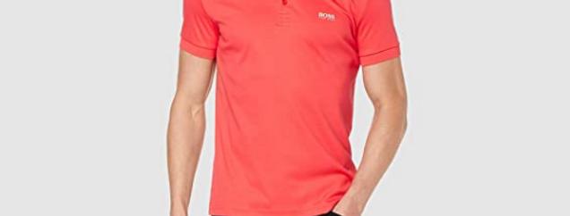 Hugo Boss Paule 1 Short Sleeve Cotton Pink Polo Shirt 50404272