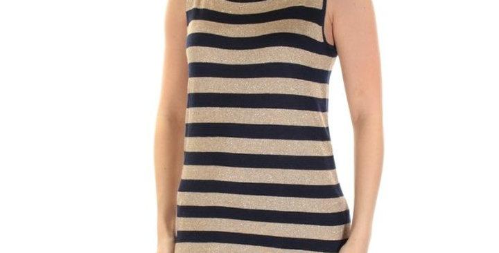 Lauren Ralph Lauren Women Striped Sleeveless Top P57