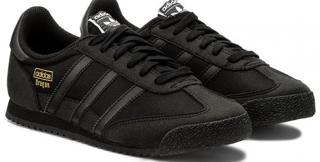 Adidas Black Women's Dragon Og Sneakers J BZ0103 110