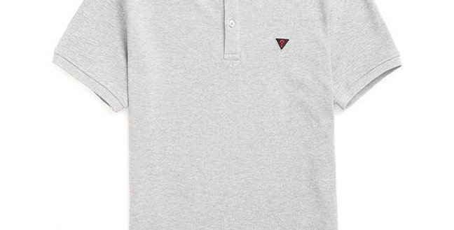 Guess Men's Grey Polo Shirt P90