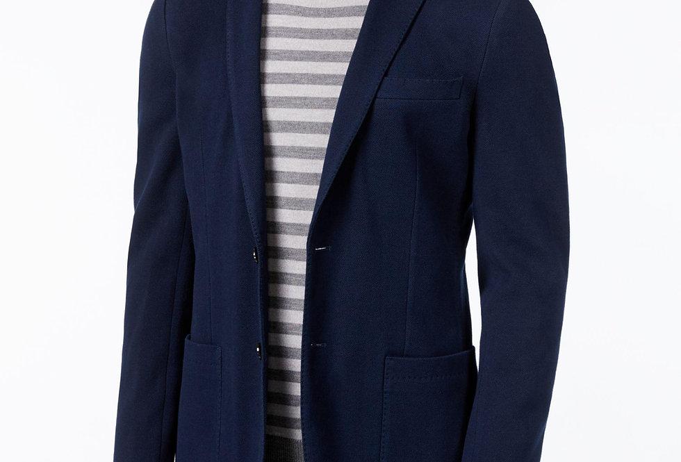 Michael Kors Men's Classic Fit Double Knit Midnight P102