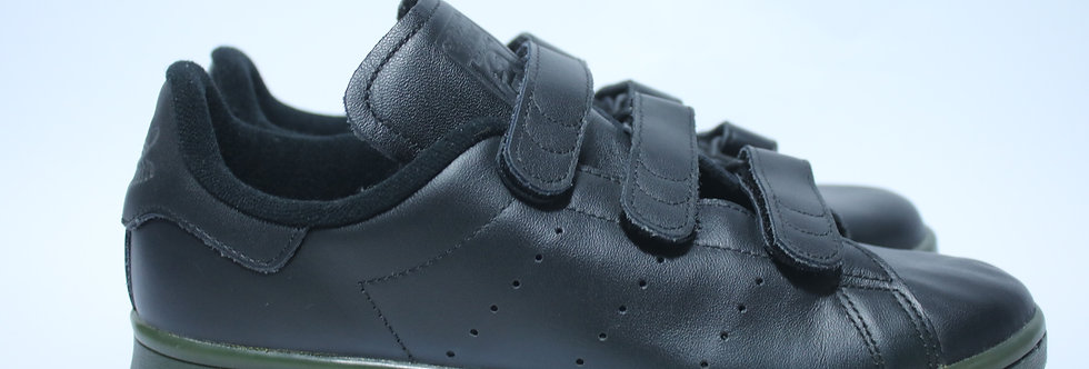 Adidas Original Stan Smith CF s80044 sneaker - Black / Olive