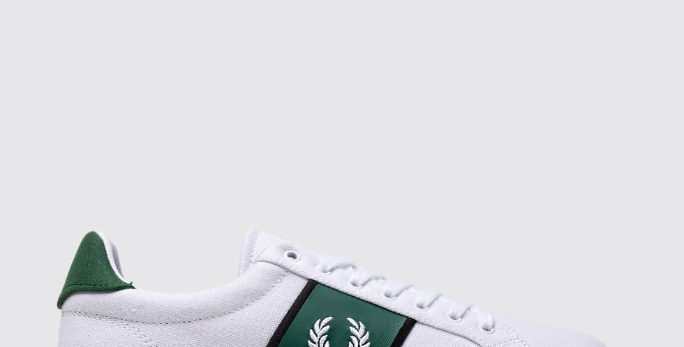 Fred Perry - Canvas Tricot White Royal B5177134