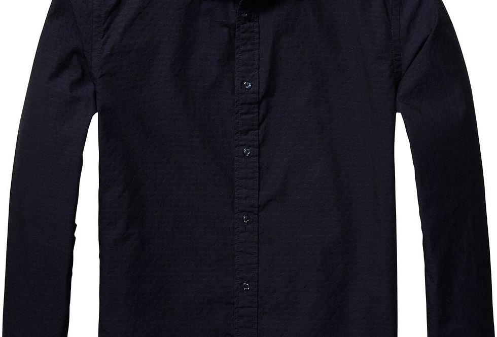 Scotch and Soda 136318 Crisp Poplin Shirt P99