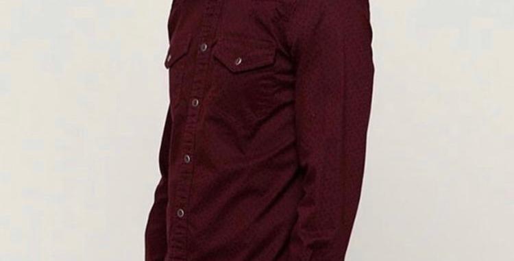 Lee Cooper long sleeve shirt 3200004 ZOOSK P - Red