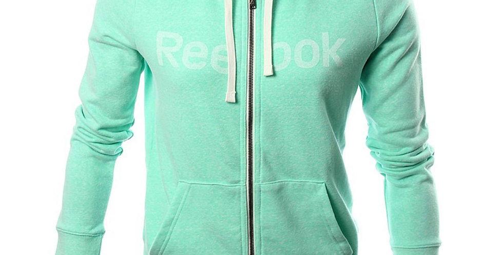 Reebok Women's Elements Full Zip Big Logo Hoodie P49