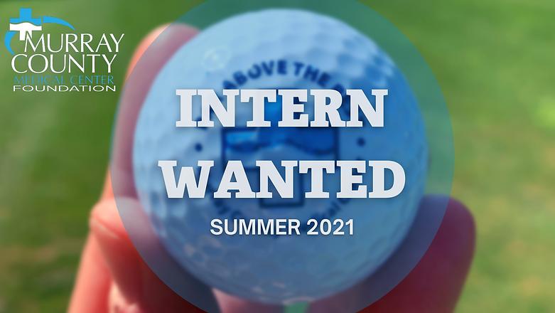 Foundation seeking summer 2021 intern