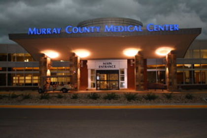 Front entrance of Murray County Medical Center