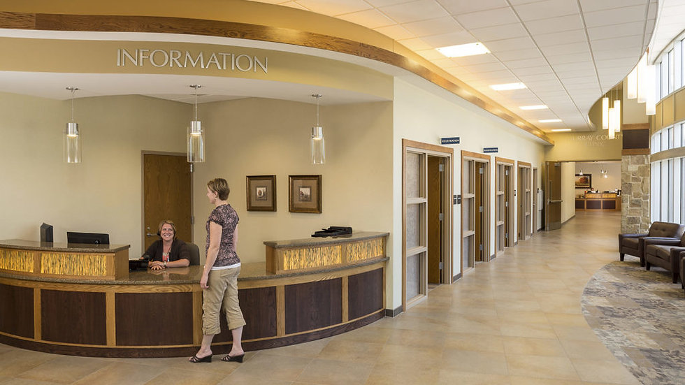 Image of MCMC front desk