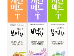 부광약품, 시린메드 Tea 치약 3종 출시