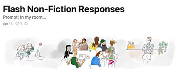 Flash non-fiction responses