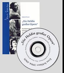 Buch und CD, Erna Schlüter, Die Heldin großer Opern