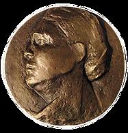 Bronze-Plakette Erna Schlüter von Rita Westermann