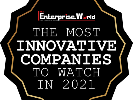 """Approyo Listed to """"The Most Innovative Companies to Watch in 2021"""" by The Enterprise World"""