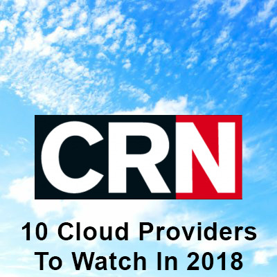 Approyo named to 10 Cloud Providers to Watch in 2018