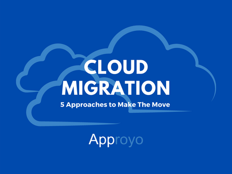 Cloud Migration: 5 Approaches to Make The Move [Infographic]