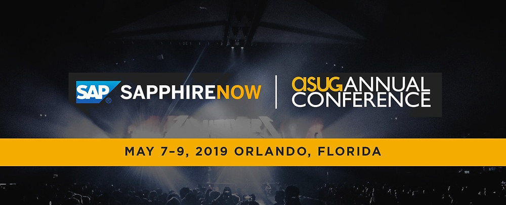 2019 SAP SAPPHIRE NOW and ASUG Annual Conference