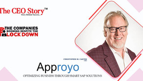 """Approyo Listed As One Of """"The Companies Booming Despite The Lockdown"""" by The CEO Story"""