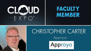 Approyo CEO Chris Carter to speak at the 2019 CloudEXPO
