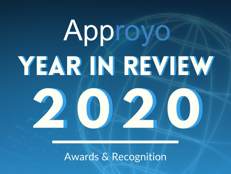 2020 Year in Review: Approyo Awards & Recognition
