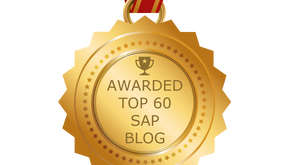 Approyo Blog named one of the Top 60 SAP Blogs by Feedspot