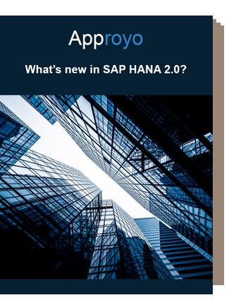 Approyo SAP HANA 2.0