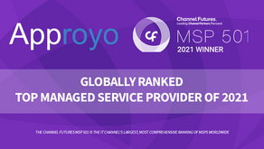 Approyo Ranked as Number 345 on Channel Futures MSP 501 List of Global Managed Service Providers