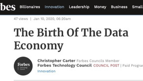 CEO Christopher Carter Featured in Forbes: 'The Birth of The Data Economy'