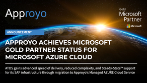 Approyo, Inc. Achieves Microsoft Gold Partner Status for Microsoft AZURE Cloud