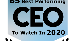 Approyo CEO Named As 'Best Performing CEO to Watch in 2020' by Business Sight