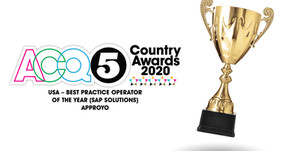 ACQ5 Names Approyo as USA's 'Best Practice Operator of the Year (SAP Solutions)'