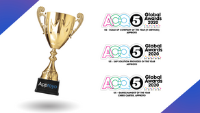 ACQ5 Recognizes Approyo as an SAP Industry Leader in Three Categories of the 2020 ACQ5 Global Awards