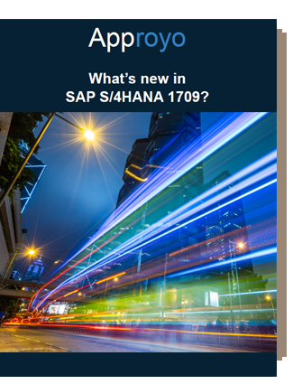 What's new in SAP S/4HANA Approyo