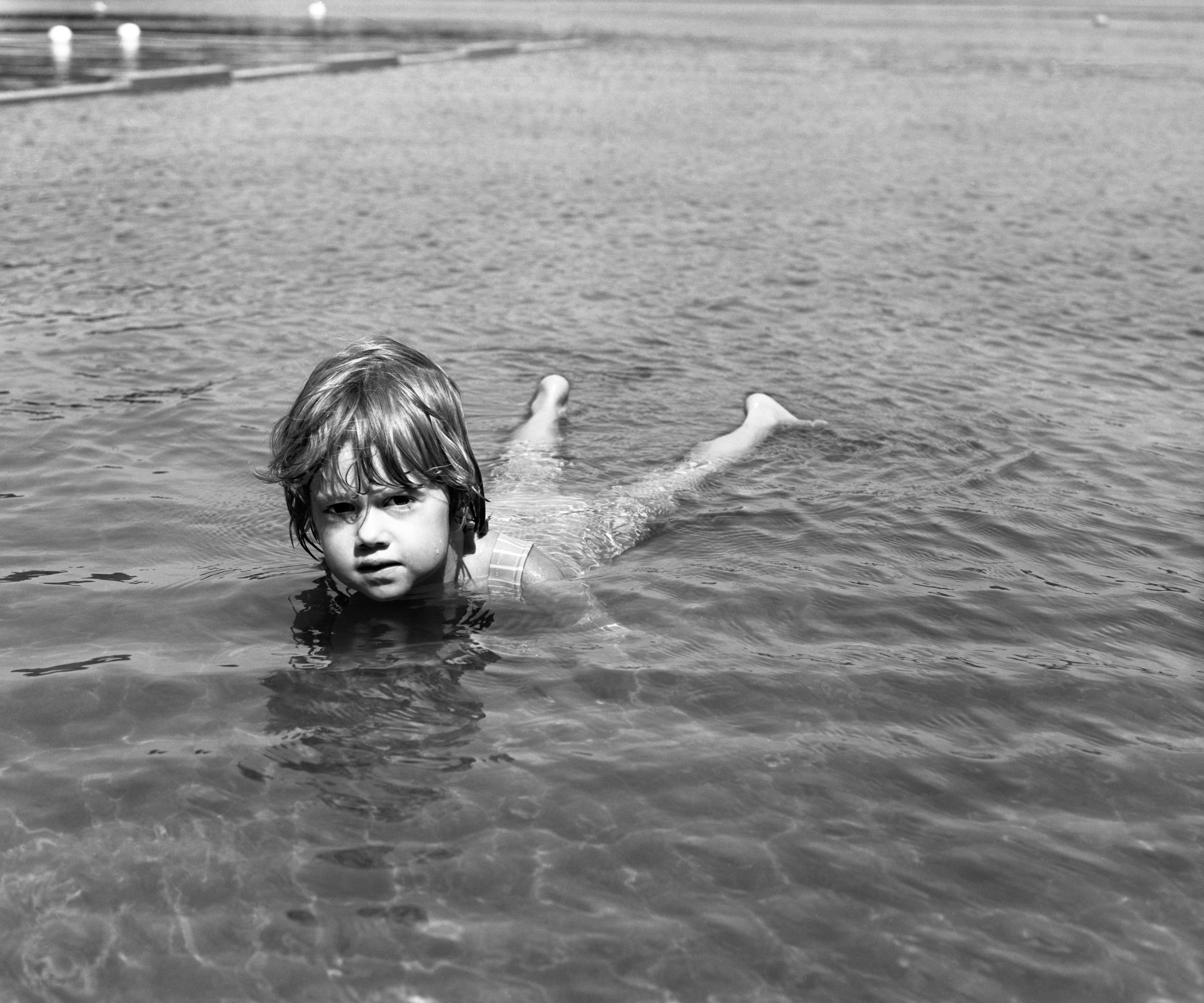 '80 Alison Swimming in New Hampshire