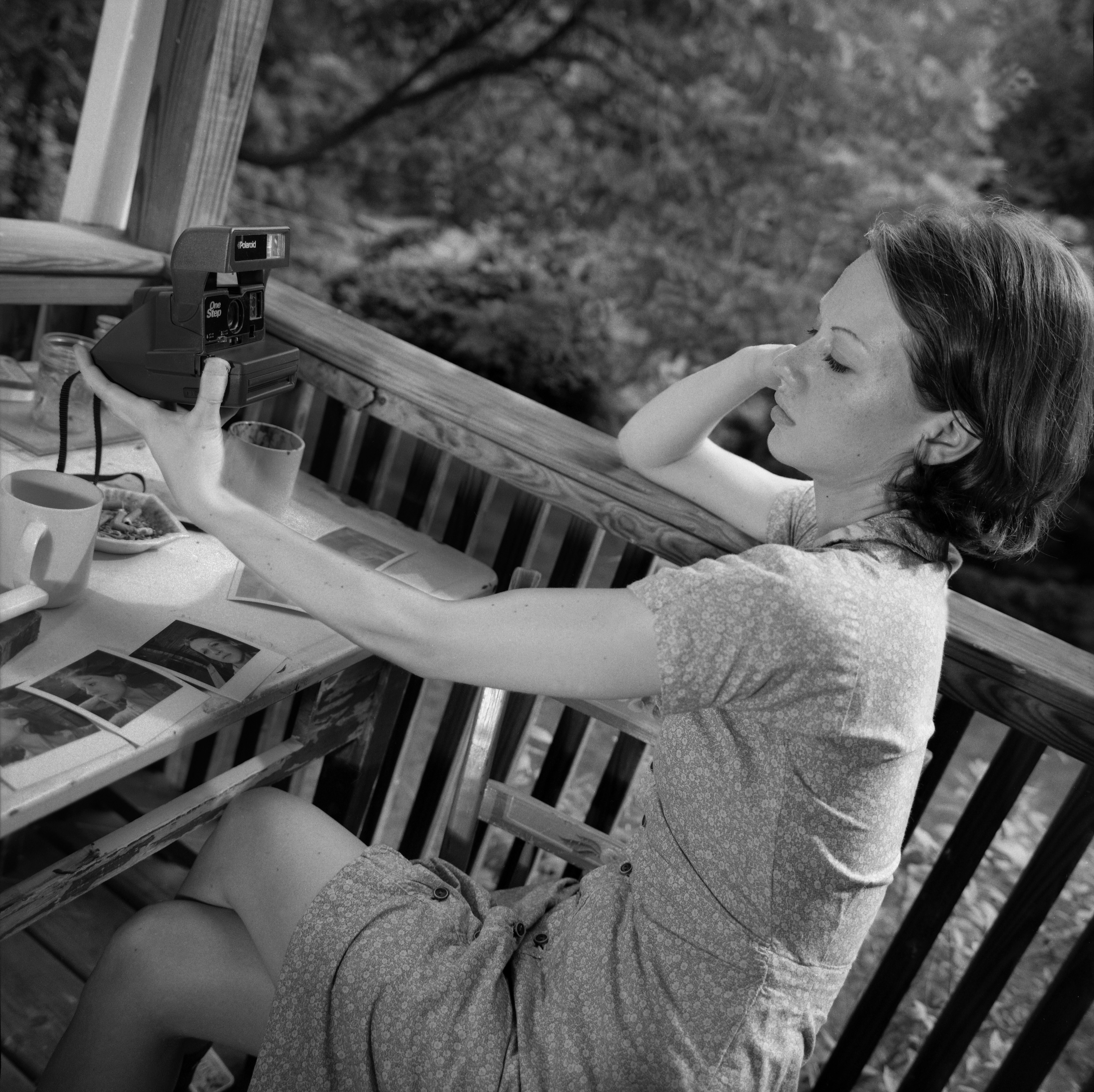2001 Alison, Self Portrait, Occoquan, VA