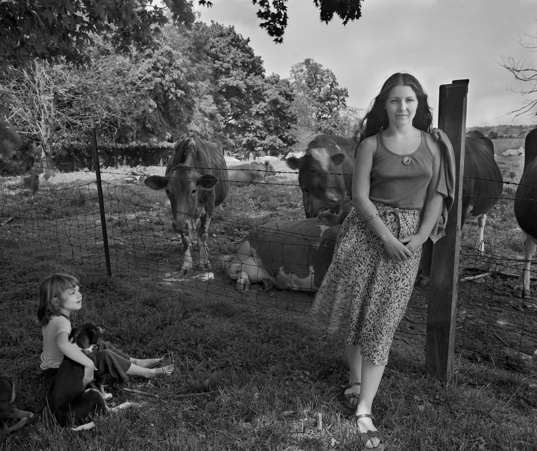 '82 Alison and Dodie, Cow PastureWS