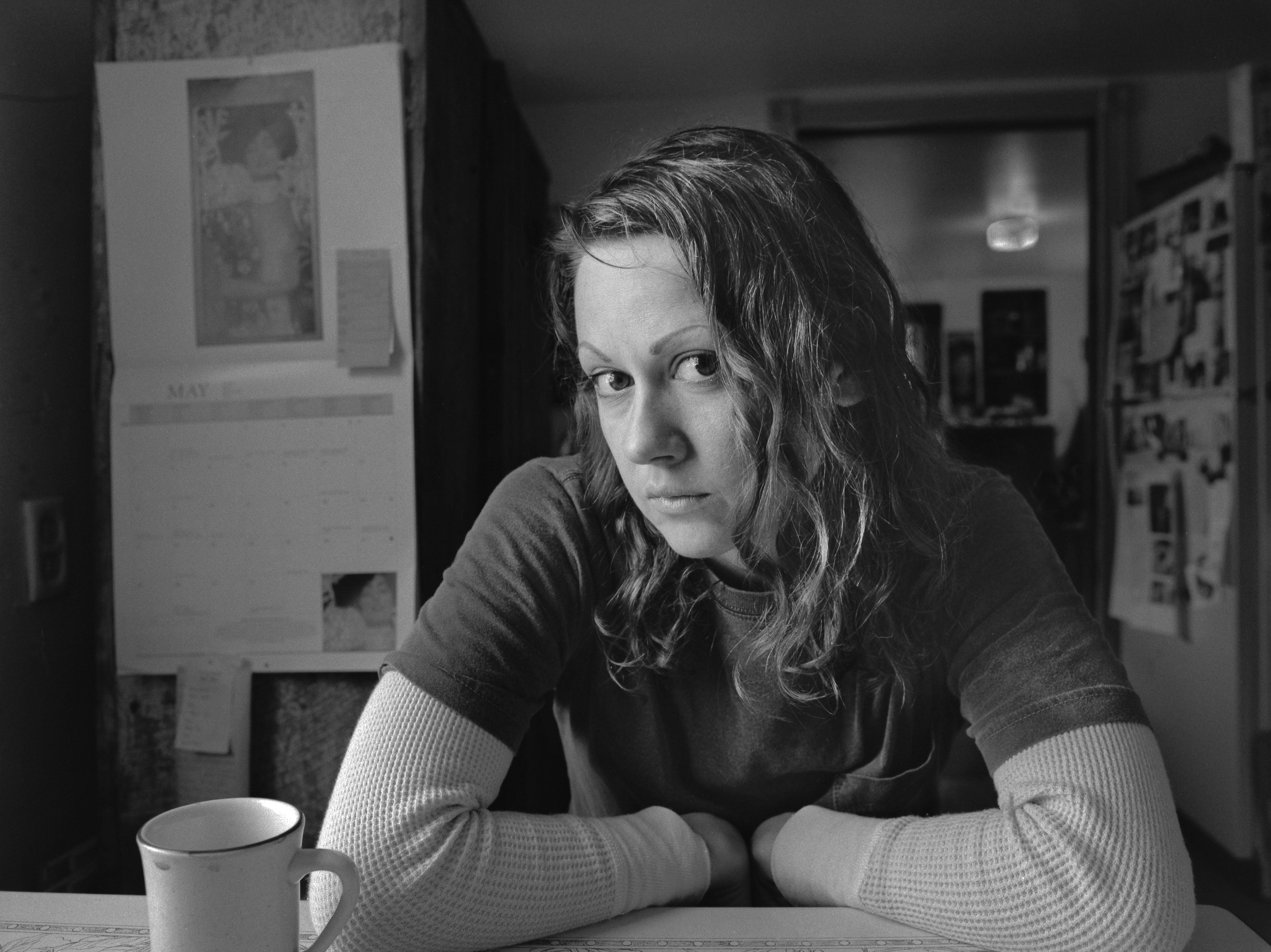 2006 Alison at Kitchen table, Occoquan, VA