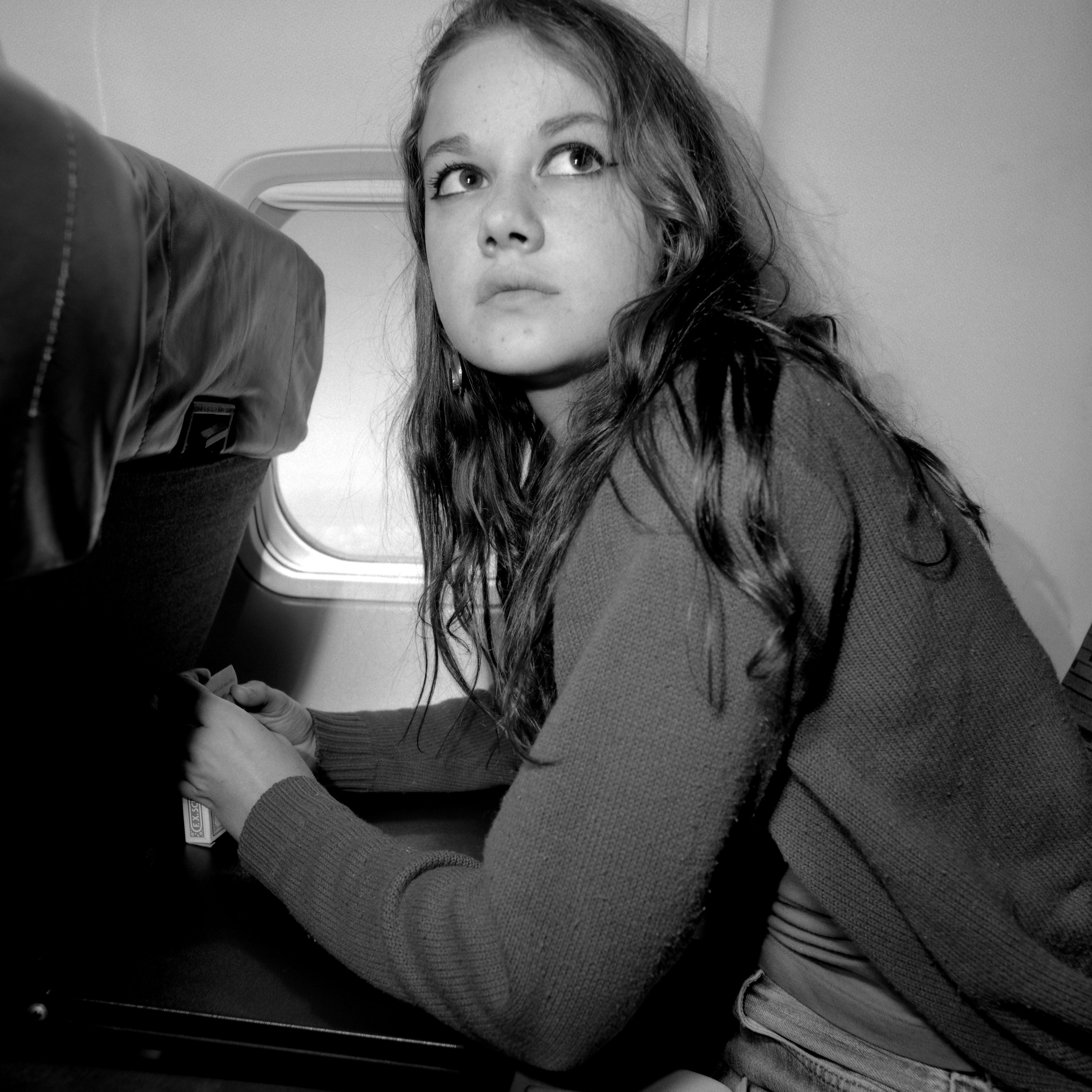 '92 Alison on the way to Arizona