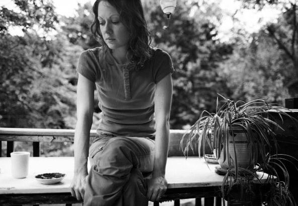 Alison on Porch 06-2003