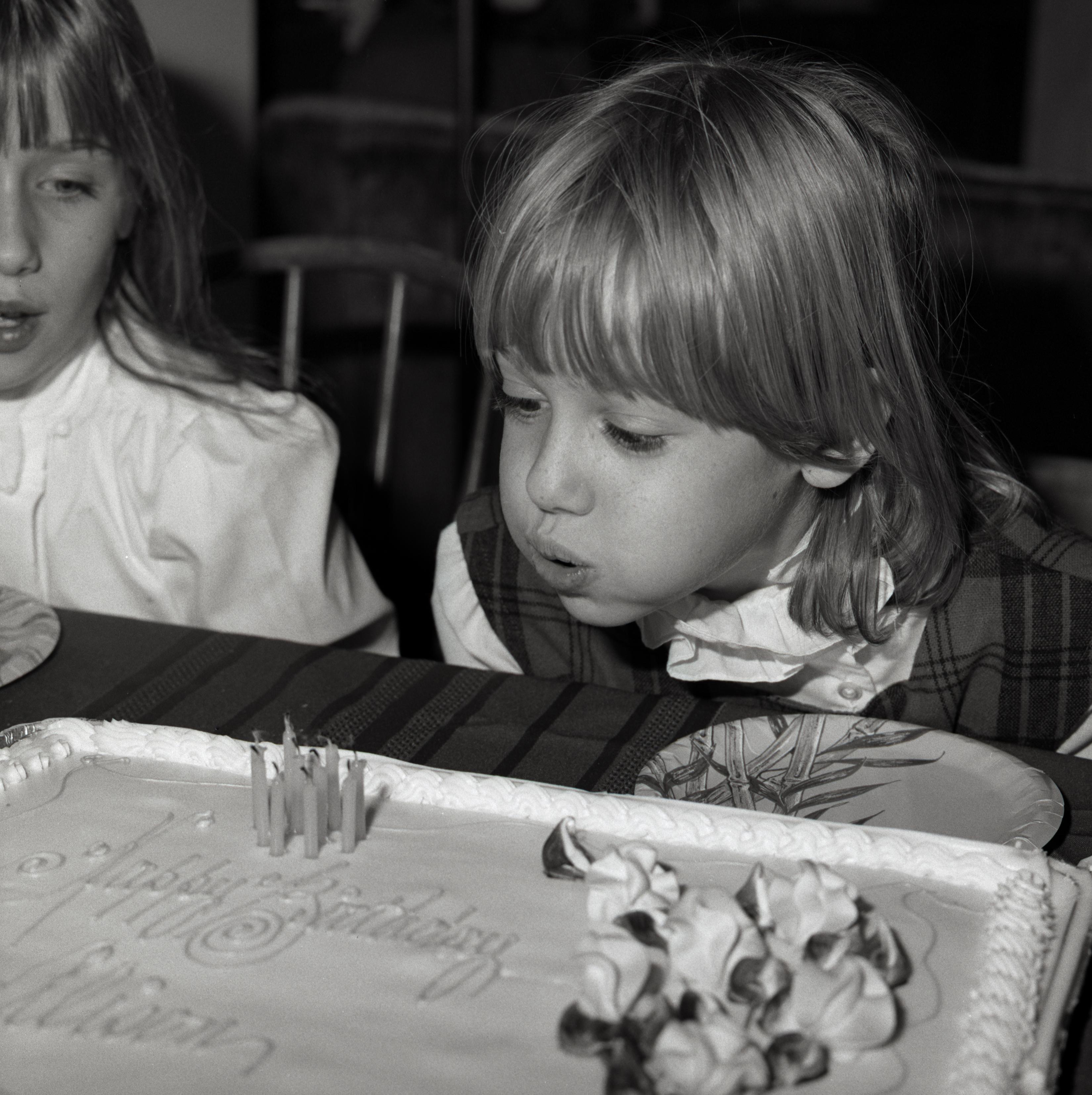 '84 Alison and Christie, Alison's 9th BirthdayWS
