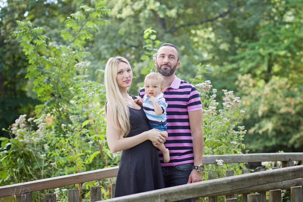 photo bébé 1 an famille