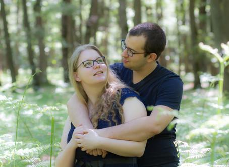 Séance Engagement Fabien et Caroline