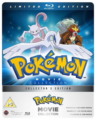 Pokemon Movie 1 2 3 Collection Blu Ray Steelbook Otaku Desu