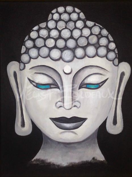 Buddha Blue Eyes