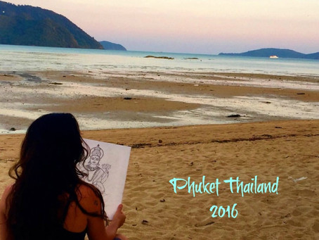Beachside Sketching