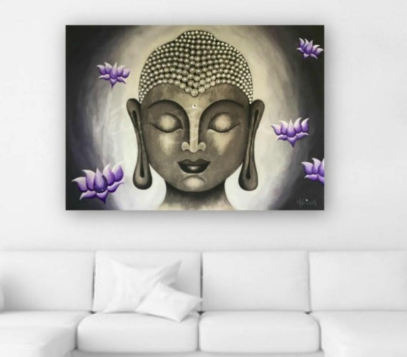 Buddha Lotus17 Purple
