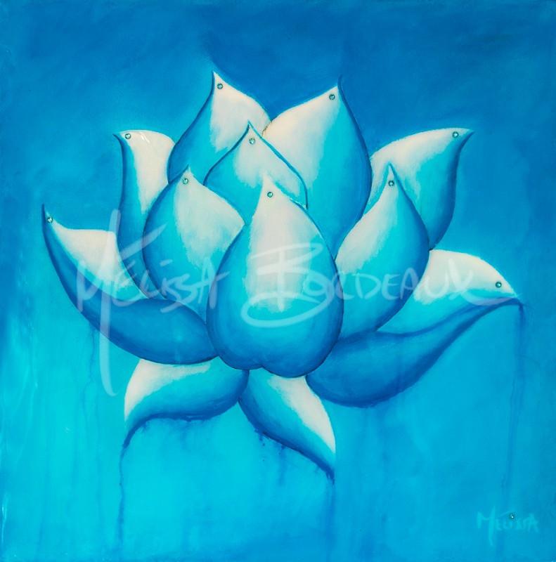 No Mud No Lotus ~ Blue