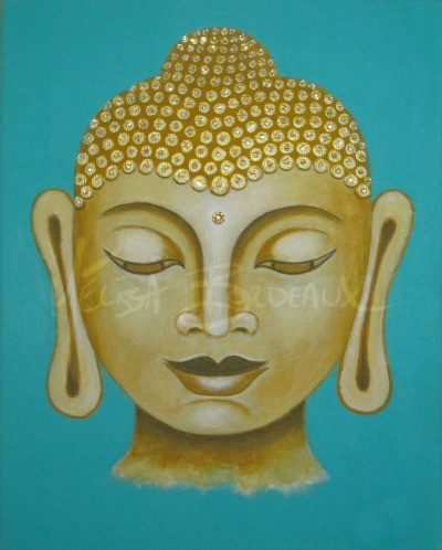 Buddha Teal