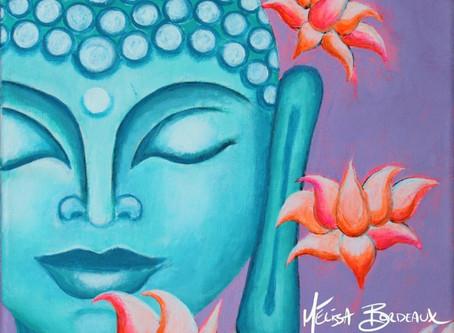 Tropical Buddha - Inspired by island life